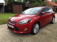 Ford Focus 1.6 TDCi Zetec 5dr with Appearance pack & towbar