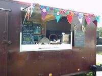 "Burger Van / Catering Trailer / Pop-up Cafe / ""The HideAway Cafe"""