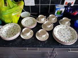 Dining plates etc
