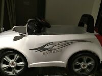 Chad Valley Children's electric ride in car