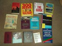 books.. 16 assorted titles in very good clean condition please see photos for titles £12 ovno