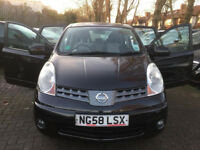 2008 58 NISSAN NOTE AUTOMATIC 5 DOOR LOW MILES