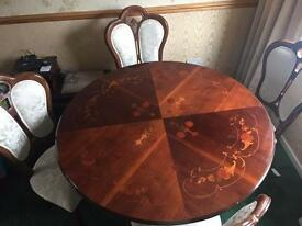Stunning Solid Dining Table.