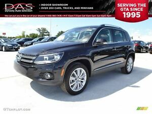 2013 Volkswagen Tiguan 2.0 TSI COMFORTLINE/LEATHER/SUNROOF