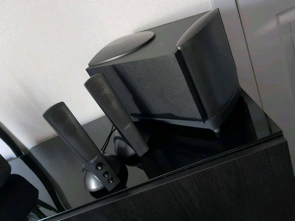 Altec Lansing Computer Subwoofer and Dual Speaker Sound system