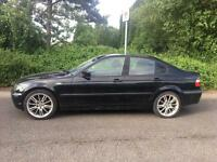 BMW 318 1.6 LONG MOT SAT NAV CHEAP CAR NOT FORD MONDEO