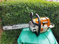 "stihl ms260.SEE VIDEO! chainsaw 15"" bar and chain in excellent used condition."