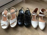 Shoes/sandals all size 5
