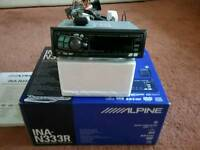 ALPINE INA-N333R RADIO / CD /SAT NAV