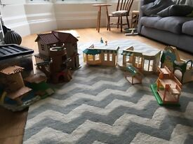 Sylvaniam Family Village Toys.