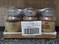 UNOPENED Douwe Egberts Pure Gold Instant Coffee 190 g (Pack of 6)