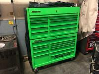 "Snap on 55"" tool box"