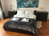 Ikea King Size Bed with Slats for Sale