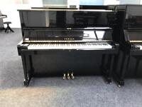 Yamaha U1 Upright Piano Black Year 1977 Warranty & Stool