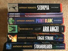 Anthony Horowitz books bundle