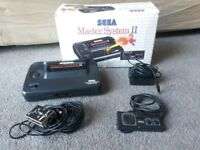 Sega Master System 2 with box