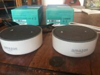 Two Echo Dot (Second Generation) - £60 in total!