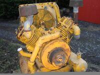 tractor compressor sandblaster slurry