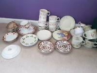 Joblot of vintage crockery