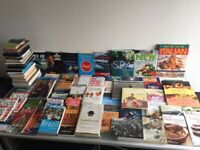 Over 100 Fiction & Non Fiction Books, DVD, Travel Guides, Maps, Cooking Job Lot