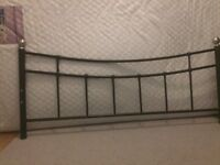 4ft double bed and memory foam mattress