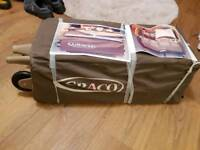 Graco change&travel cot