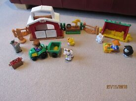 Fisher Price Little People Horse stable and shed sets