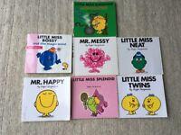 Mr Men Books - bundle of 7