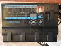 Zoom guitar fx pedal