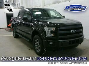 """2015 Ford F-150 4WD SuperCrew 145"""" Lariat W/ SUNROOF, LEATHER"""