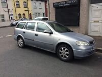 Vauxhall Astra estate 02 reg in silver with 12 months MOT, px welcome