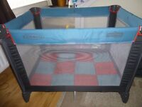 Graco Travel Cot and carry bag, Very good condition, rarely used