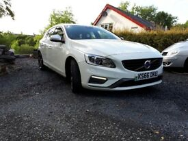 '66 plate Volvo V60 R-Design Lux Nav, Winter Pack