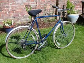 Vintage Gents bicycle, large frame size