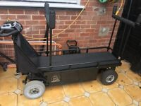 Motorised Carp Fishing Trolley
