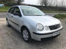 VOLKSWAGEN POLO S 1.4 5DR SILVER 2002 LOW MILES