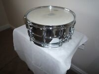 1990`s Ludwig 402 Snare Drum For Sale in Stunning Condition