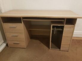 Brand new oak effect computer desk