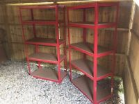 Metal Shelving Unit 7 available BN 5 Tier Industrial Racking Garage Heavy Duty Shelf Bay