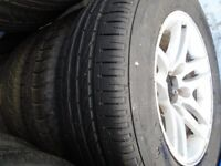 235 60 16 Suzuki Vitara Alloys with new and almost new tyres Also have sidesteps, A Bar, sparecover
