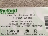 Micheal McIntyre tickets