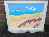 Isle of Wight, large acrylic painting