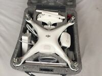 NEW DJI PHANTOM 4 Drone (with extra ORIGINAL battery & extra set of propellers ) £900