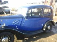 1938 MORRIS 8 CLASSIC CAR