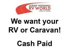 We Want Your Motorhome!! Cash Paid Wodonga Wodonga Area Preview