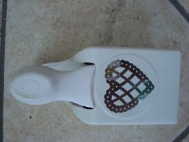 Martha Stewart Large Lace Love Heart Lever Punch