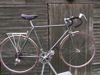 Vintage Raleigh Royal Touring Bike Reynolds 531 Frame / Forks Classic Racing Cycle