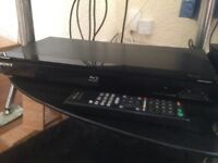 Blu Ray player and selection of films