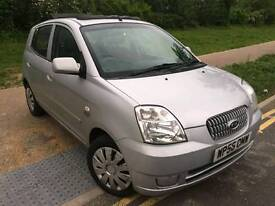 Kia PICANTO Petrol Engine size 1.0 Hatchback Mileage 78000 Year2006 Colour Silver Gearbox Manual