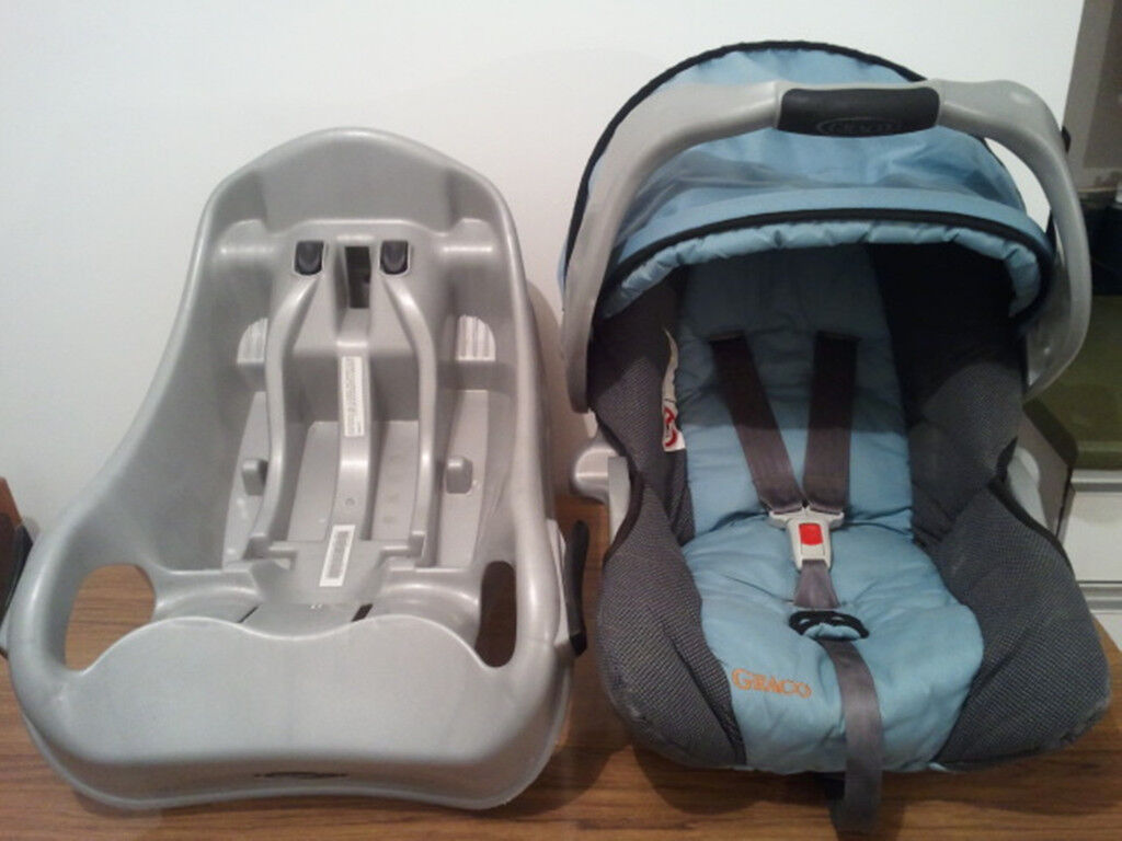 BABY CAR SEAT GRACO WITH SUREFIX BASE UNIVERSAL SUITABLE FROM NEW BORN TO